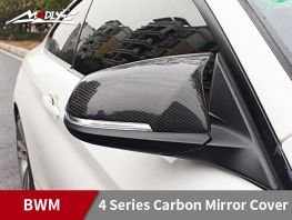 2014-2016 BMW 4 Series Carbon Mirror Cover
