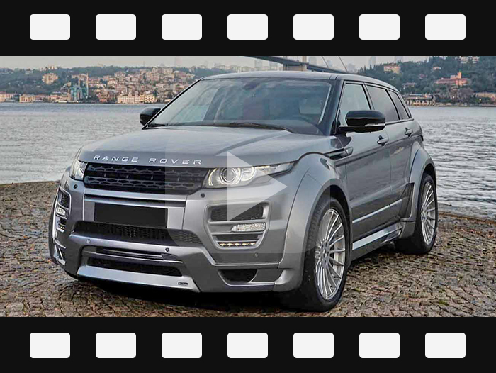 2012-2015 Range Rover evoque modify Hamann style body kits