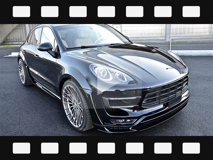 2014-2017 Porsche Macan HM style wide body kits