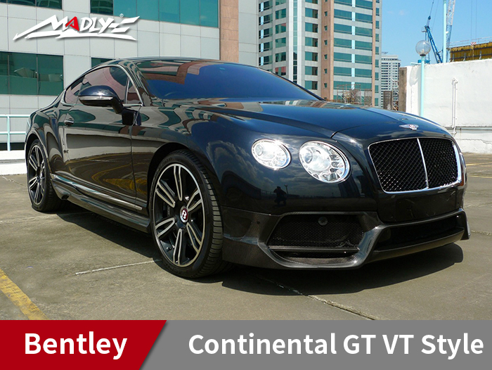 2012-2015 Bentley Continental GT VT Style Body Kits