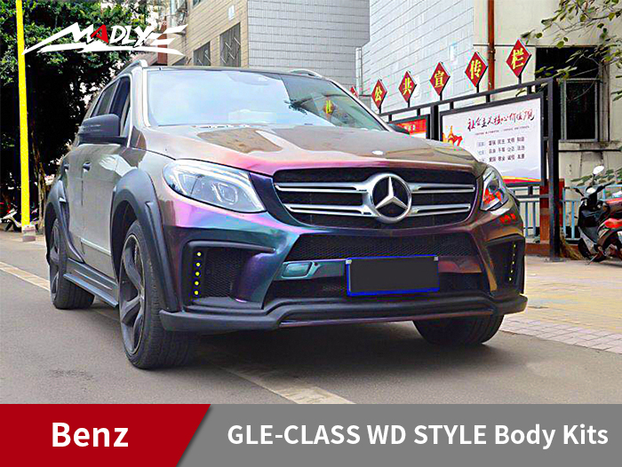2015-2018 Benz GLE WD Style Wide Body Kits