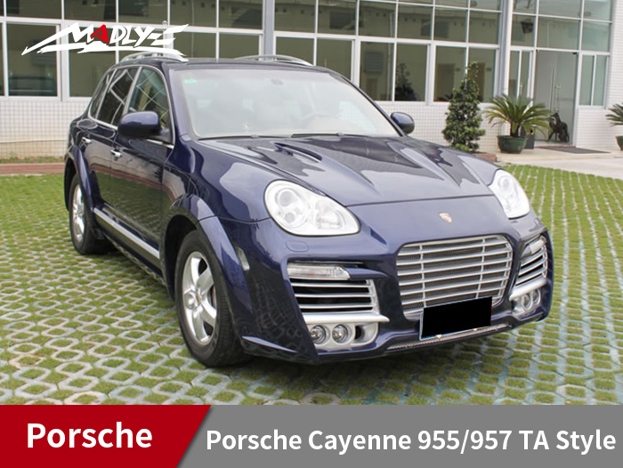2004-2007 Porsche Cayenne 955 to 957 TA Style Wide Body Kits