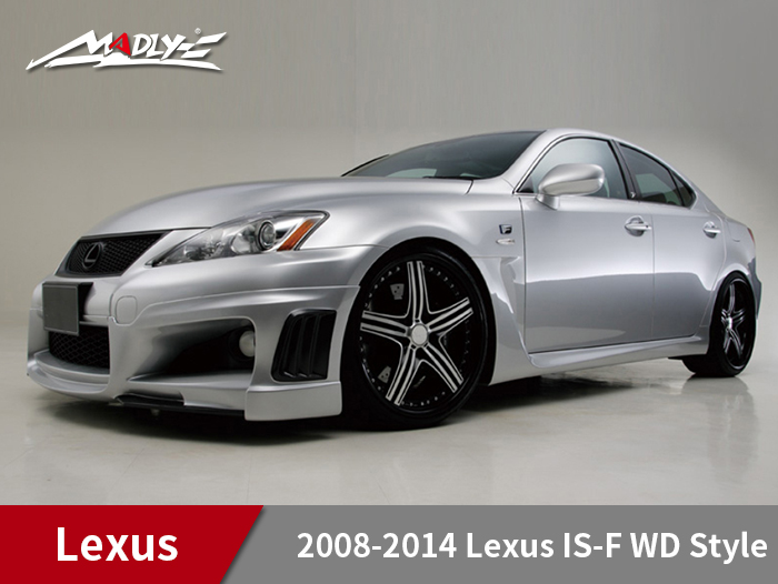 2008-2014 Lexus IS-F WD Style Body Kits