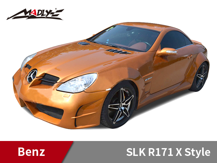 2005-2008 Benz SLK R171 X Style Wide Body Kits