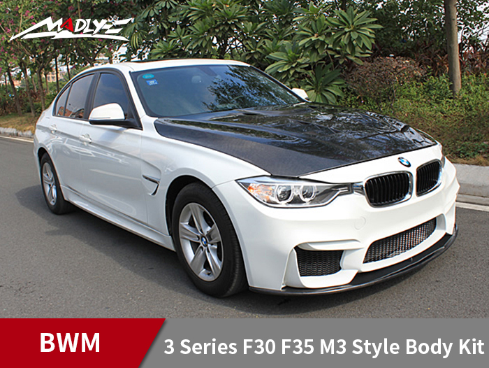 2013-2016 BMW 3 Series F30 F35 M3 Style Body Kits