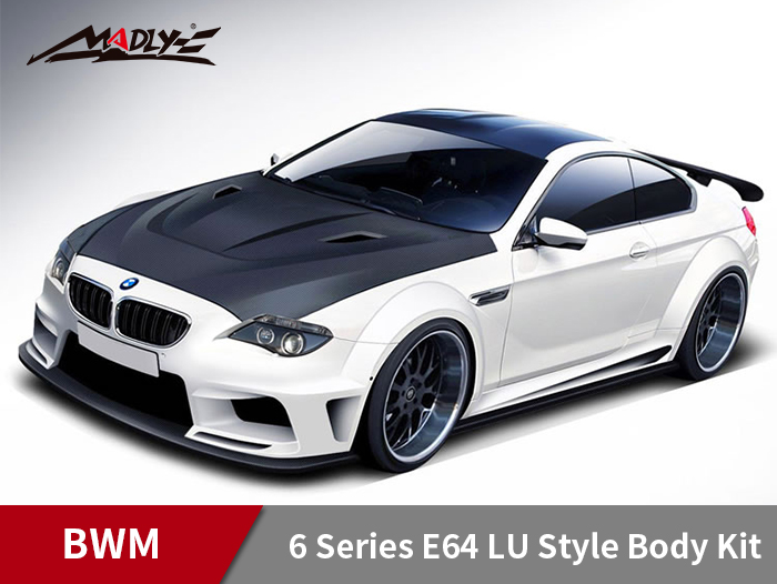 2004-2009 6 Series E64 LU Style Wide Body Kit